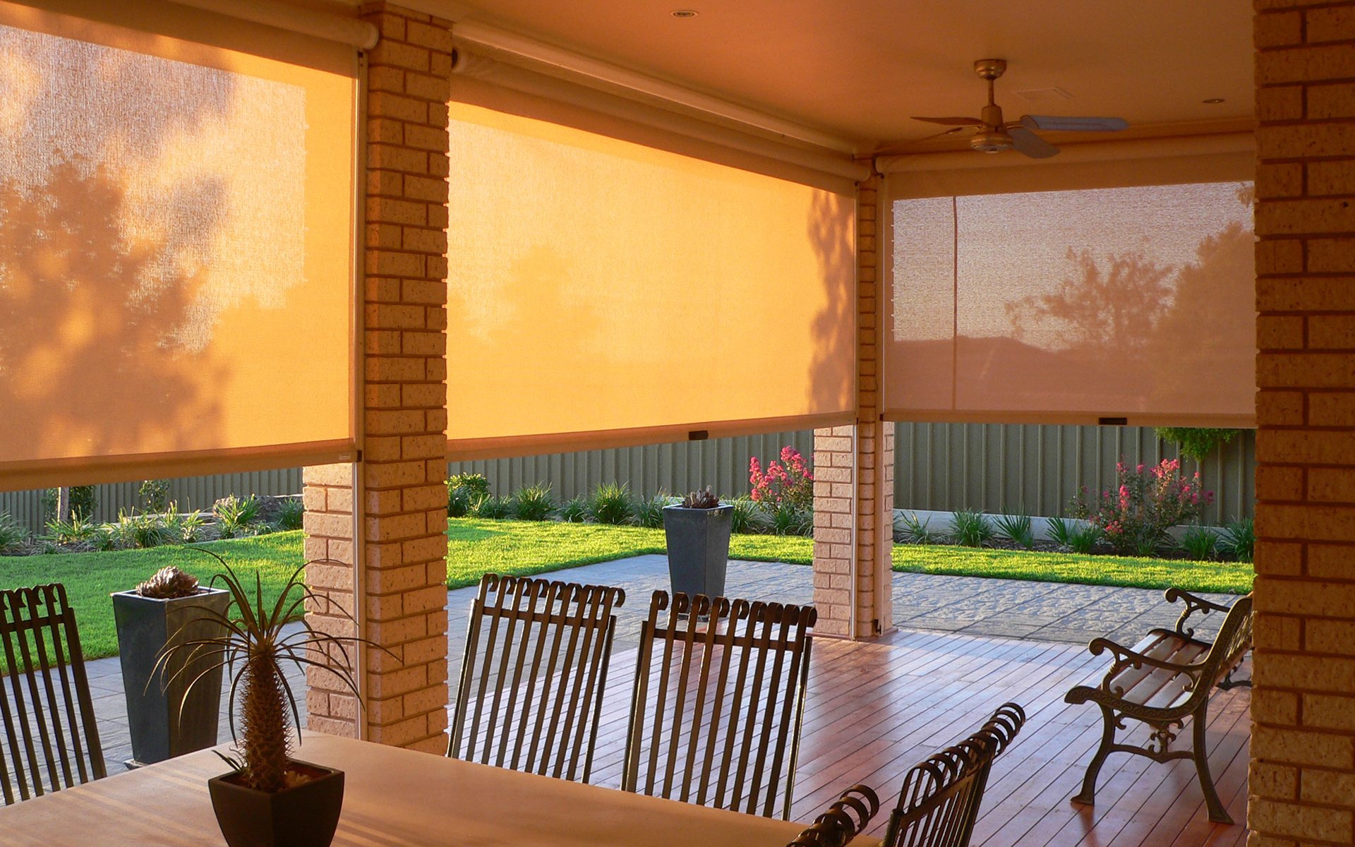 Canvas Windows & Outdoors Awnings | Accent Blinds